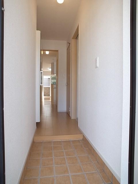 ボン・シャンス 01030号室の玄関