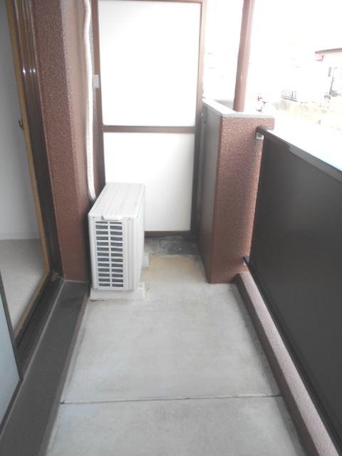 サンテラス植松 103号室のバルコニー
