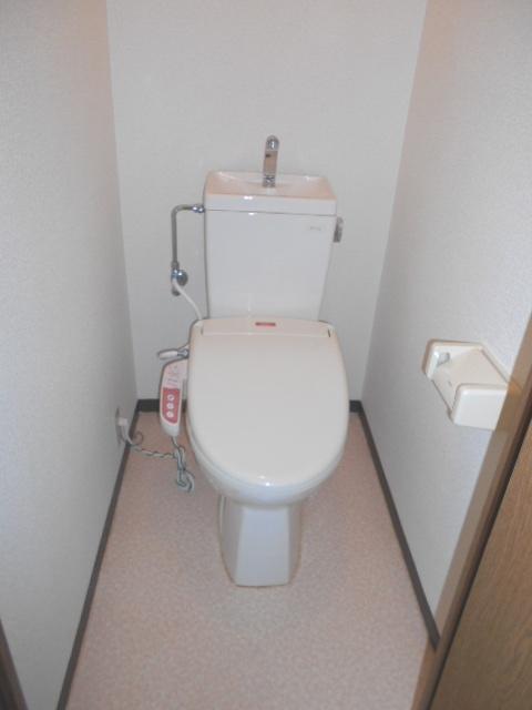 サンテラス植松 103号室のトイレ