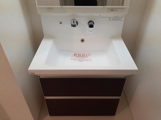 ディアコート積み木 02040号室の洗面所