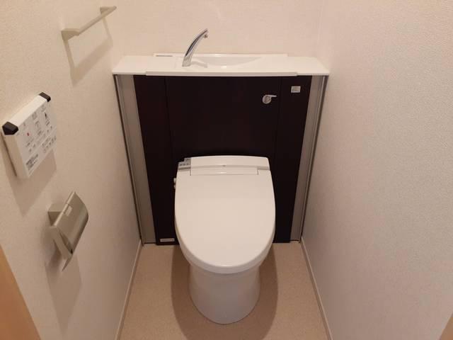 ディアコート積み木 02040号室のトイレ