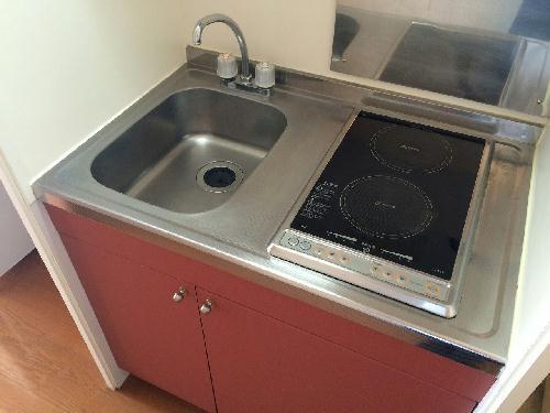 レオパレス昭徳Ⅱ 106号室のキッチン