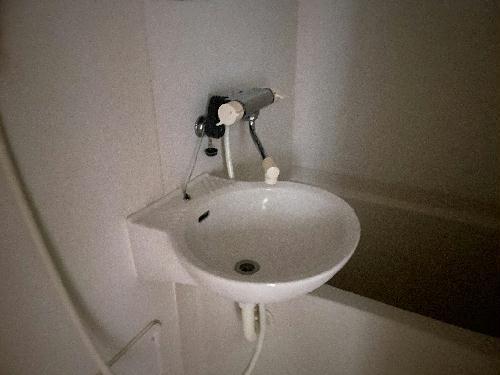 レオパレスクレールニトナ 206号室の洗面所