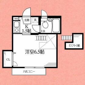 カインドハウス杉田・302号室の間取り