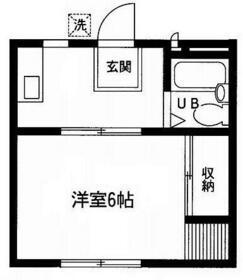 プレジオ・コジマ・102号室の間取り