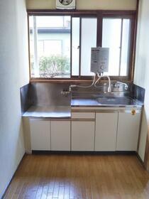 絆ハウス 101号室のキッチン