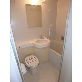 ハセベ椿森コーポ 201号室の風呂