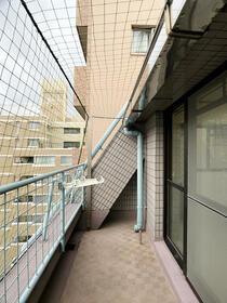 ダイナコート六本松2 802号室のバルコニー