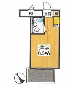 メゾン・ド・新狭山・504号室の間取り