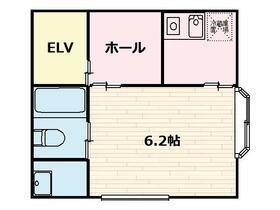 梅澤ビル・201号室の間取り