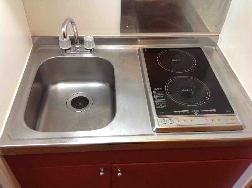レオパレスGK 105号室のキッチン