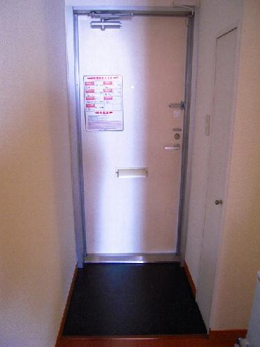 レオパレスサンライズ はしかべ 206号室の玄関
