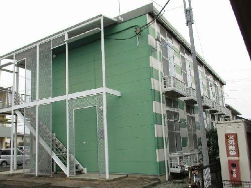 レオパレスボヌール 202号室の駐車場