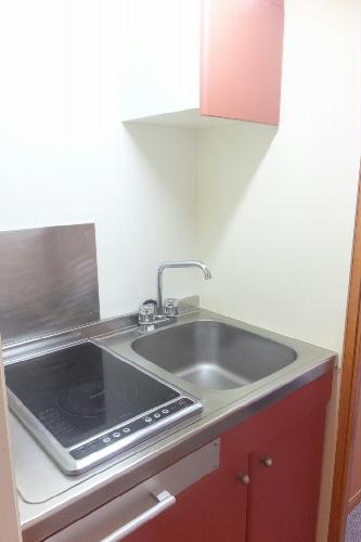 レオパレスボヌール 202号室のキッチン