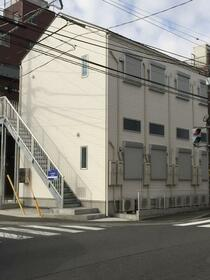 戸塚区上矢部アパートメントB棟の外観