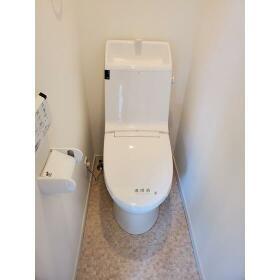 ヴィレッタ白楽 101号室のトイレ