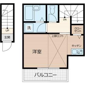 K-house練馬高野台Ⅰ・201号室の間取り