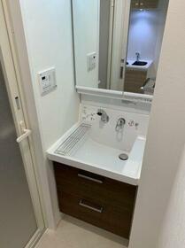 ハーモニーレジデンス東京イーストガーデン 201号室の洗面所
