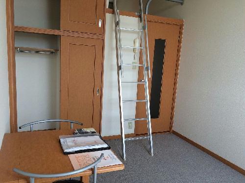 レオパレス昭徳 203号室のリビング