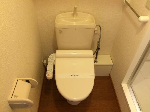 レオパレス昭徳 203号室のトイレ