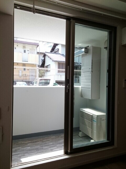 ロアシス 01020号室のバルコニー