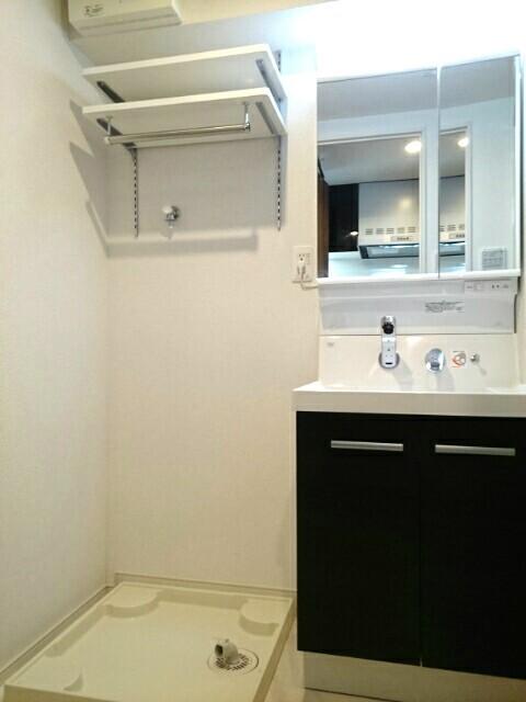 ロアシス 01020号室の洗面所
