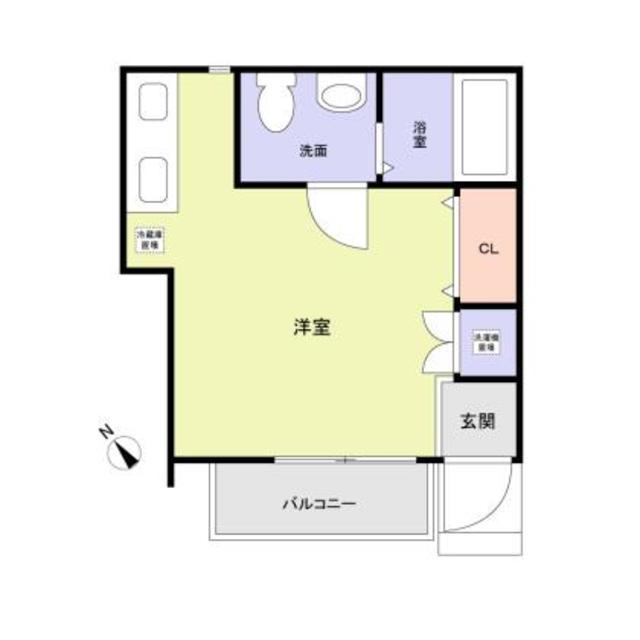 (仮称)大田区東六郷1丁目計画・2号室の間取り