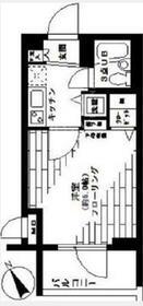 ステージファースト青山・302号室の間取り