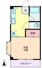小宮山マンション・303号室の間取り