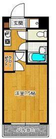 SAISON21・405号室の間取り