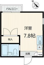 メゾンアイザワⅡ・201号室の間取り
