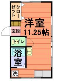 鈴木荘・2号室の間取り