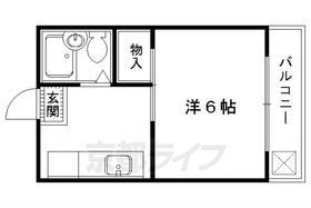 二軒茶屋マンション・B-35号室の間取り