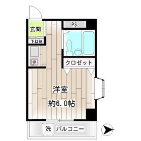 第22新井ビル・00201号室の間取り