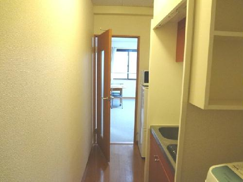 レオパレスハーモニーチャット 204号室のリビング