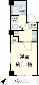 エスト横浜 00502号室の間取り