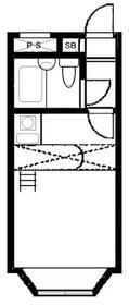 ベルピア東大宮第8-1・202号室の間取り