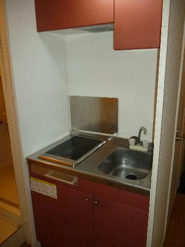 レオパレススターハイム 101号室のキッチン