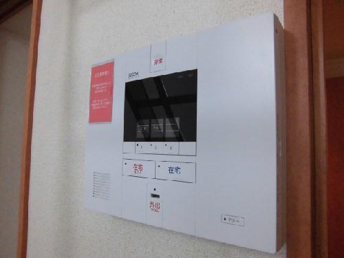 レオパレスソレーユ 103号室のセキュリティ