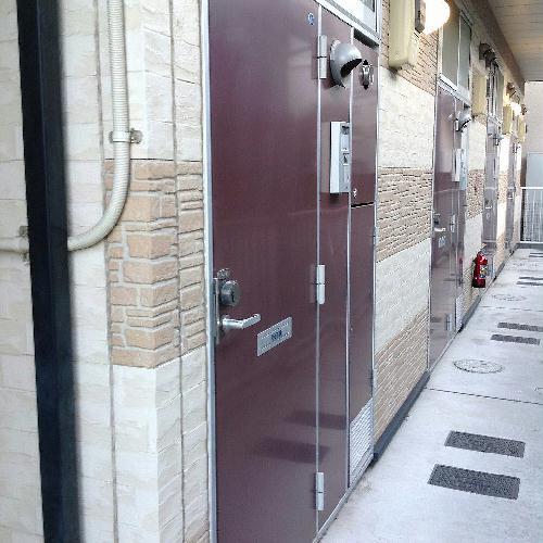 レオパレスケレス 104号室の風呂