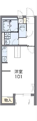 レオネクストクープル・102号室の間取り
