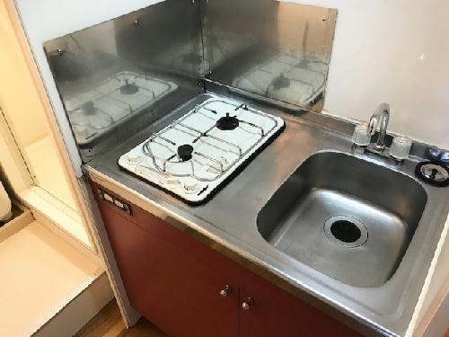 レオパレスアコール 201号室のキッチン
