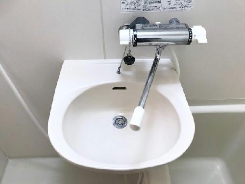 レオパレスアコール 202号室の洗面所