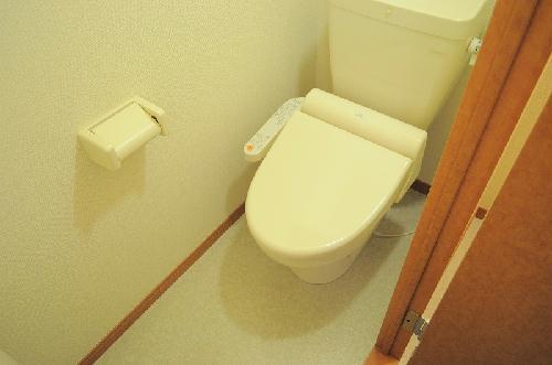 レオパレスガリバー王国Ⅱ 104号室のトイレ