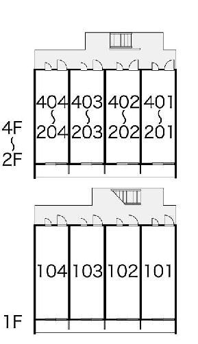 レオパレスソフィア 弐番館 302号室のトイレ