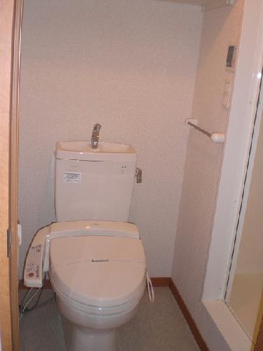 レオパレスシティーストーン 204号室のトイレ