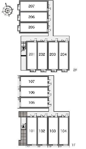 レオパレスシティーストーン 204号室のその他