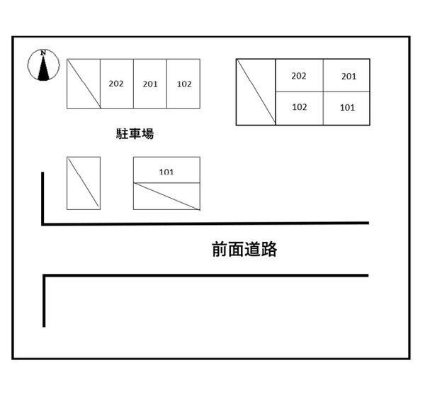 川井ハイツ 202号室のその他