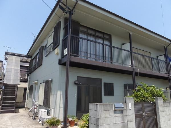 川井ハイツ 202号室の外観
