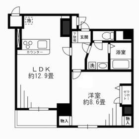 Empereur Beton Tokyo・702号室の間取り